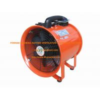 China Air supply and exhaust blower fan 36V in red on sale