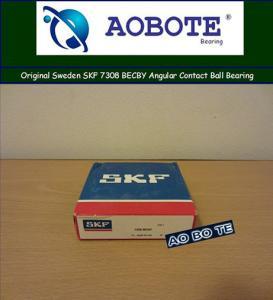 Micro Ball Bearings , Angular Contact Ball Bearing SKF 7308 BECBY