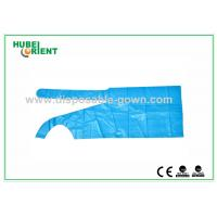 Quality Polythene Disposable Aprons , Waterproof Plastic Colored Aprons for sale