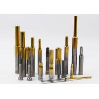 Quality High Speed Steel HSS Punches Pin TiN TiCN TiALN CrN WC/C ALCRONA Coated for sale