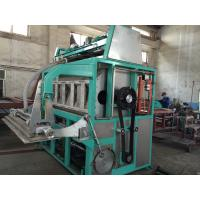 Quality 5000pcs / Hour Egg Tray Moulding Machine Large Capacity Easy Maintenance for sale