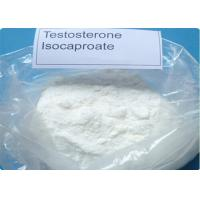 Isocaproate Testosterone Steroids For Building Muscle Mass CAS 15262-86-9 Crystalline Powder