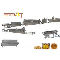 Quality Fully Automatic Maize Flakes Making Machine , Breakfast Cereal Production Line for sale