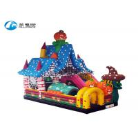 China factory cheap bouncy castle halloween party bouncer jumping slide on sale