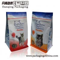 Quality Printed Matte Stand Up Pouches Pet Food Packaging Bags With Special Zipper for sale
