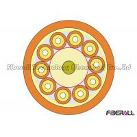 Buy Non Metallic Round Indoor Fiber Optic Cable 10 Cores With 2.0mm SX Cable at wholesale prices