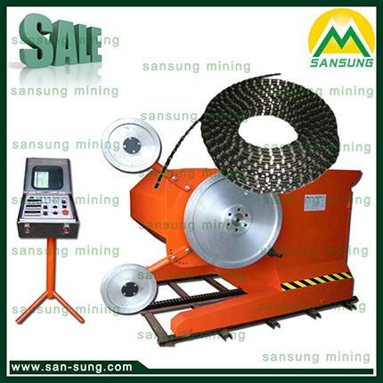 diamond wire saw cutting machine of san sung com