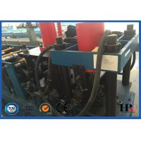 Quality L Steel Purlin GCr15 Rollers / Roll Forming Machinery With Quenched Treatment for sale