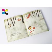 Quality Cartoon Custom Book Printing Services , Children Perfect Bound Book Printing for sale