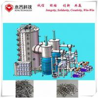 Quality Large Cathodic Arc Deposition System For Architectural Building Materials, SS sheets Multi Arc TiN Gold Coating Machine for sale