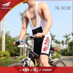 China 2015 cheap men's cycling jersey bib shorts set on sale