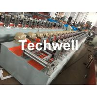 Quality Custom-made Octagonal Aluminum Or Galvanized Steel Tubing Roll Forming Machine With PLC Frequency Control for sale