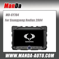 Quality good quality car audio for Ssangyong RODIUS 2004 2 din car dvd player car pc gps navigation system for sale