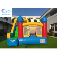 Quality Commercial Grade Kids Parties Inflatable Bouncy Castle With Slide For Outdoor for sale