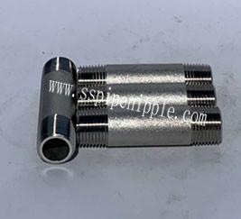 "Quality Professional Standard Aluminum Pipe Nipple  1""X100MM DIN / BSPT / NPT for sale"