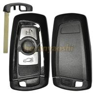 Quality Lock / Unlock Auto Remote Key Fob , 3 Buttons Bmw Remote Start 3 Series for sale
