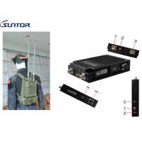 Buy cheap HD Video Surveillance COFDM Transmitter Easy Manpack 2*2 Mimo 40MHz IP MESH UGV from wholesalers