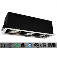 Buy cheap Trim High Lumen Led Spot Downlights , Triple Head 3*20w Cob Led Downlight Replacement from wholesalers