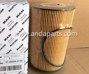 Quality Good Quality Oil Filter For MANN Filter 51.05504-0122 for sale