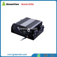 Quality 4CH Mobile DVR with 3G model option (Google Map) for sale