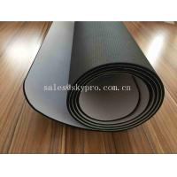 China 3mm Thick Black Body Trainning Exercise Fitness Workout Yoga Pilates Mat Exercise NBR Yoga Mats for Fitness on sale