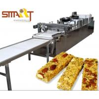 Buy Snack Bar And Energy Nut Bar Cereal Candy Bar Cutting Forming Machine at wholesale prices