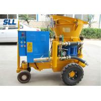 Quality Dry / Wet Ready Mix Concrete Shotcrete Machine 13.8~14.8m3/Min Air Consumption for sale