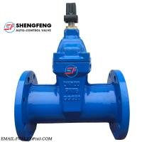 Quality DIN3352 CAST IRON DUCTILE IRON DN100 PN16 GGG50 F5 WATER GATE VALVE for sale
