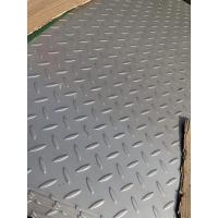 Quality 304 Stainless Steel Checkered Plate , Floor , Skid Proof Plate , Tear Plate for sale