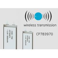 Buy cheap 37g 8mm 5500mAh Flat Lithium Battery CP783970 Non Rechargeable Wireless from wholesalers