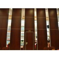 Quality Folding Door Movable Partition Walls ,  Vinyl Partition Wall For Meeting Room for sale