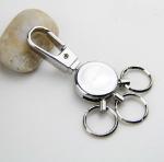 Quality Premium heavy duty metal key holder key chain for men gift set, exquisite, 45g, zinc alloy for sale