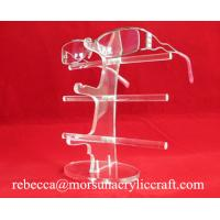 Quality Acrylic high quality glasses display rack / glasses holder/ plexiglass sunglasses stand for sale