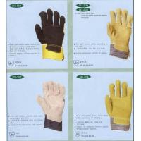 Quality Leather Safety Glove for sale