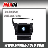 """Quality Volkswagen Golf 7 Android 4.2 car dvd player with 10.1"""" capacitive multi-touch screen Left hand drive auto stereo for sale"""