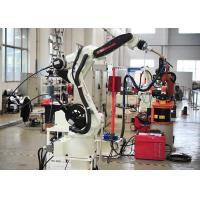 Buy cheap Stainless Steel Robotic Automation Systems , Auto Exhaust Pipe Robotic Arm from wholesalers