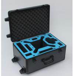 Quality Black Trolley DJI Phantom 3 Aluminum Hard Foam Storage Case With Wheels for sale