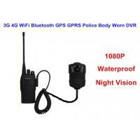 Wearable IP68 Law Enforcement Body Camera For Security Officers , ABS Material