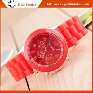 China Geneva Silicone Watch Silicon Watches Unisex Watch Jelly Watch Kids Watch Boys Girls Watch on sale