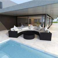 Buy 2017 Most Popular Outdoor Furniture Patio Garden Rattan Wicker Sofa Couch Set at wholesale prices