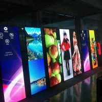 China 4s Shop Mirror LED Display P1.875 Floor Standing Poster LED Display Wifi Control on sale