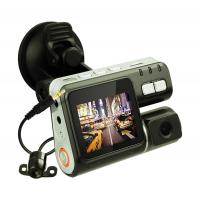 Quality 1.3 Megapixel 720P HD / VGA Dual Channel Car Camera Night Vision Black Box For Car for sale