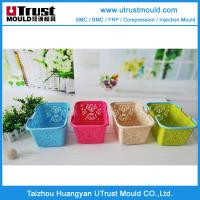 China shopping basket plastic mould,injection moulding on sale