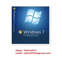 Quality Microsoft windows 7 product key codes Windows 7 Professional key for 32/64bit for sale
