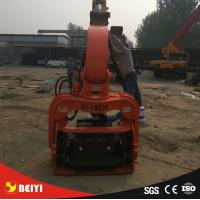 Quality excavator Hydraulic wet land, soft land excavator pile driver , pile extractor, steel pipe pile machine for sale