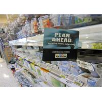 Quality PVC Full Printing Plastic Shelf Talker Personalized for Shopping Mall Promotion for sale