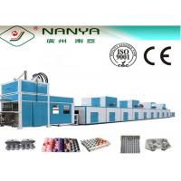 Energy Saving Fully Automatic Pulp Molding Machine , Egg Tray Manufacturing Machine