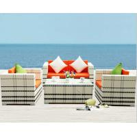 Buy cheap Rattan Outdoor Sofa Set 4 Seat Garden Furniture with Table Chiar Rattan Sofa Set from wholesalers