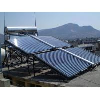 China 1000liter evacuated tube solar water heating system on sale