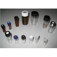 Quality Bright Color Perfume Glass Bottle / Small Glass Vial With Crimp-on Perfume Sprayer for sale
